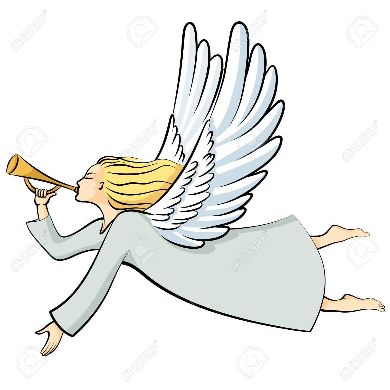 Trumpeting angel clipart clipart free library Trumpets Art | Free download best Trumpets Art on ClipArtMag.com clipart free library