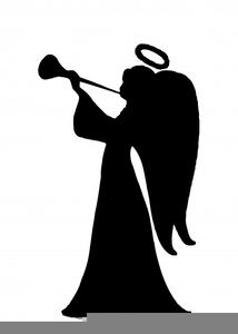 Trumpeting angel clipart picture transparent stock Trumpeting Angel Clipart | Free Images at Clker.com - vector ... picture transparent stock
