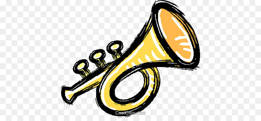 Trumpets clipart image black and white Wind Cartoon clipart - Trumpet, transparent clip art image black and white
