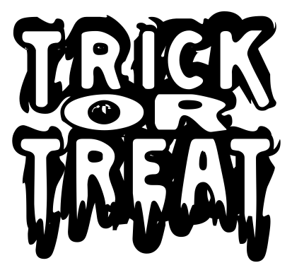 Trunk or treat clipart 11 - WikiClipArt black and white stock
