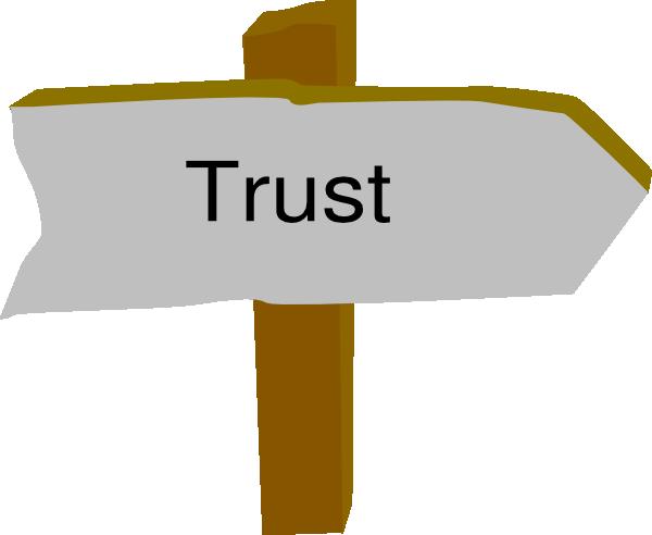 Trust Clip Art at Clker.com - vector clip art online ... svg black and white download
