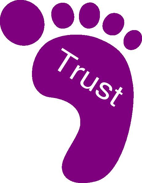 Right Foot Trust Clip Art at Clker.com - vector clip art ... transparent library