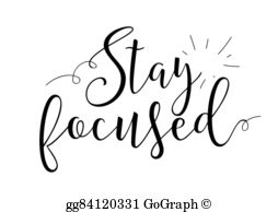 Trying to stay focused clipart clip art stock Stay Focused Clip Art - Royalty Free - GoGraph clip art stock