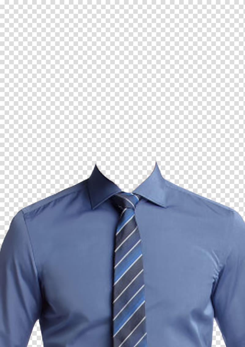 T-shirt necktie suit tie clip shirt and tie clipart vector royalty free library Men\'s blue dress shirt and blue and gray necktie, T-shirt ... vector royalty free library