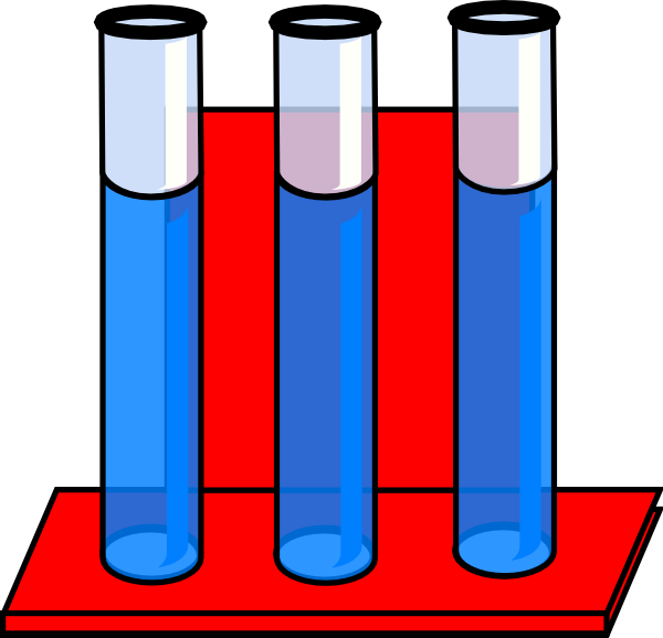 Test Tubes In Red Stand Full Of Water Clip Art at Clker.com ... banner