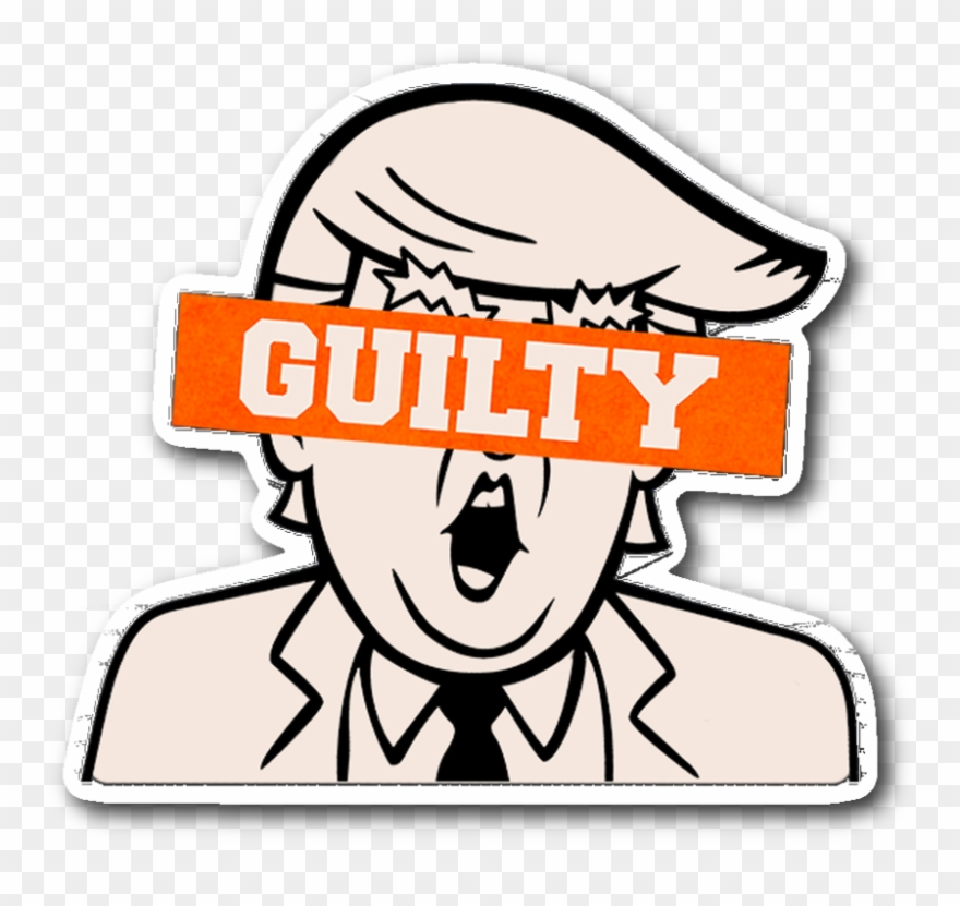 Ttrump university clipart clipart free Trump Is Guilty Sticker Clipart (#2887675) - PinClipart clipart free