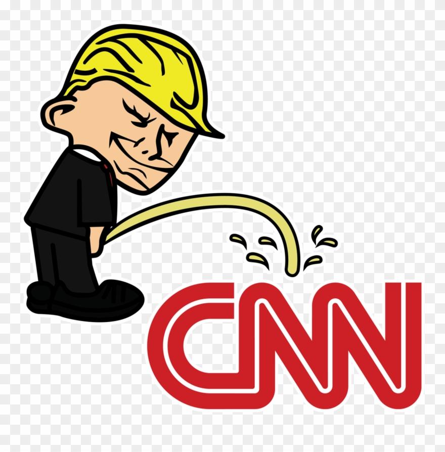 Ttrump university clipart svg royalty free download Pi$$ing Trump Badboy Cnn Clear Sticker Clipart (#2875732 ... svg royalty free download