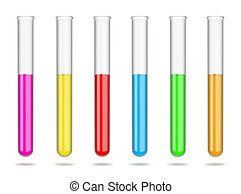 Red solution in test tube Clip Art and Stock Illustrations ... clipart black and white library