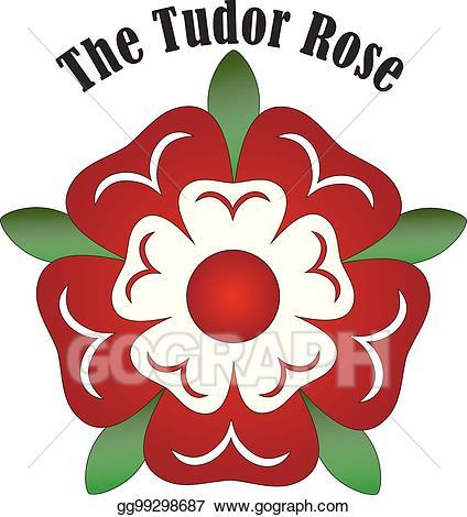 Vector Art - Vector tudor rose. Clipart Drawing gg99298687 ... svg free