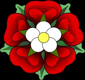 Official Tudor Rose Clip Art | flower | Tudor rose, Tudor ... svg free