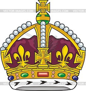 Tudor crown clipart svg transparent download Tudor crown - vector clipart svg transparent download