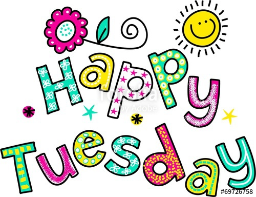 Tuesday free clipart graphic transparent download Happy Tuesday Cartoon Text Clipart\