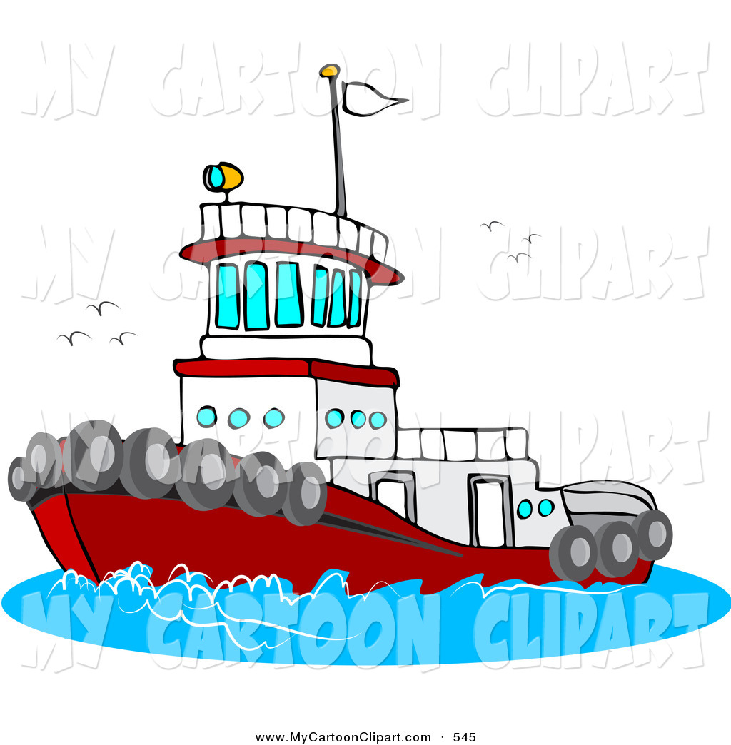 Tugboat on water clipart graphic royalty free download Tugboat Clipart | Clipart Panda - Free Clipart Images graphic royalty free download
