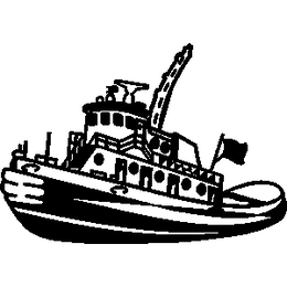 Tugboat pulling ship clipart black and white svg freeuse Download tugboat silhouette clipart Tugboat Pusher Ship svg freeuse