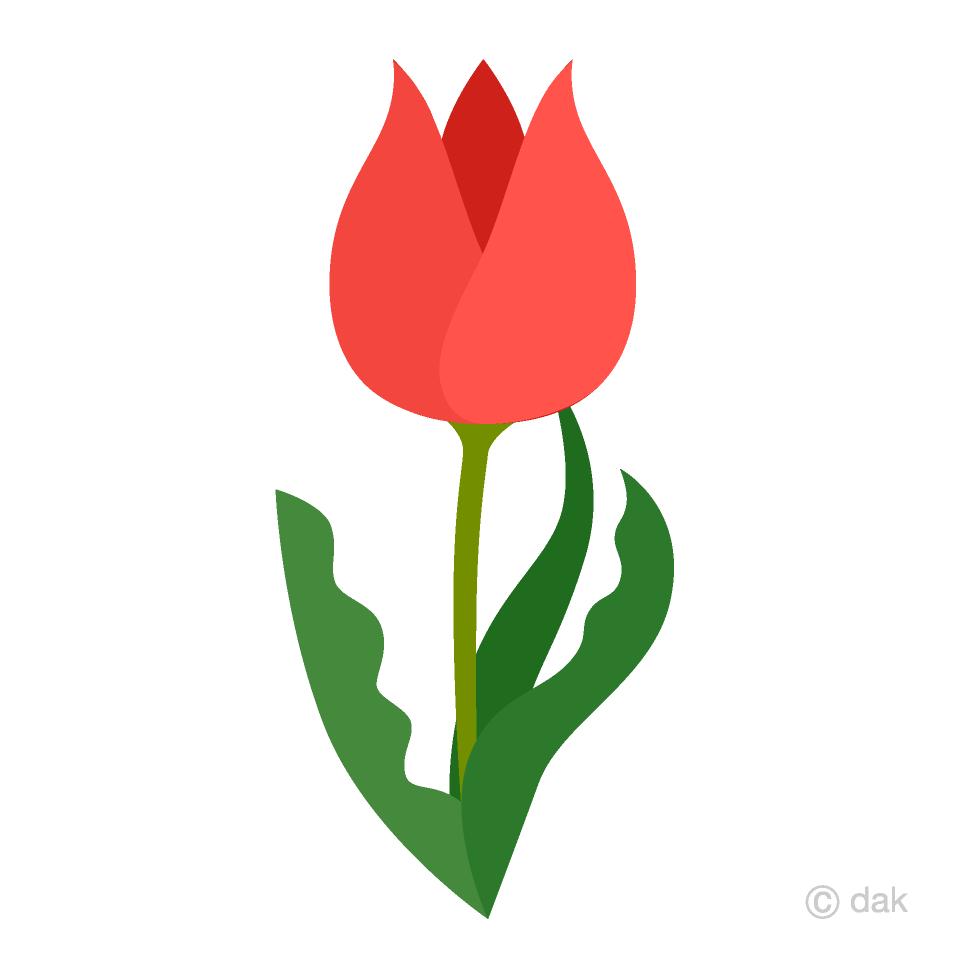 Tulip images clipart svg Cute Tulip Clipart Free Picture Illustoon svg