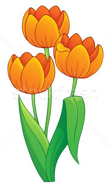 Tulips Stock Vectors, Illustrations and Cliparts (Page 2 ... svg royalty free library