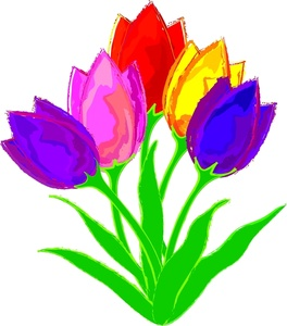 Tulips free clipart png black and white download Free Free Tulip Cliparts, Download Free Clip Art, Free Clip ... png black and white download