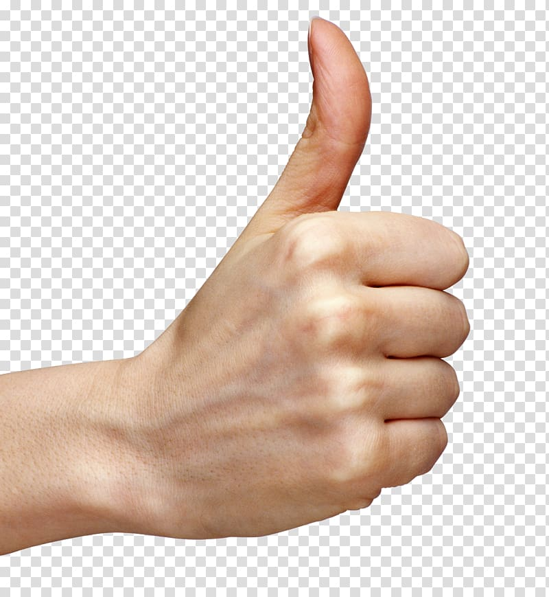 Person doing ok hand sign, Thumb signal Hand , Thumb Up Hand ... graphic transparent download