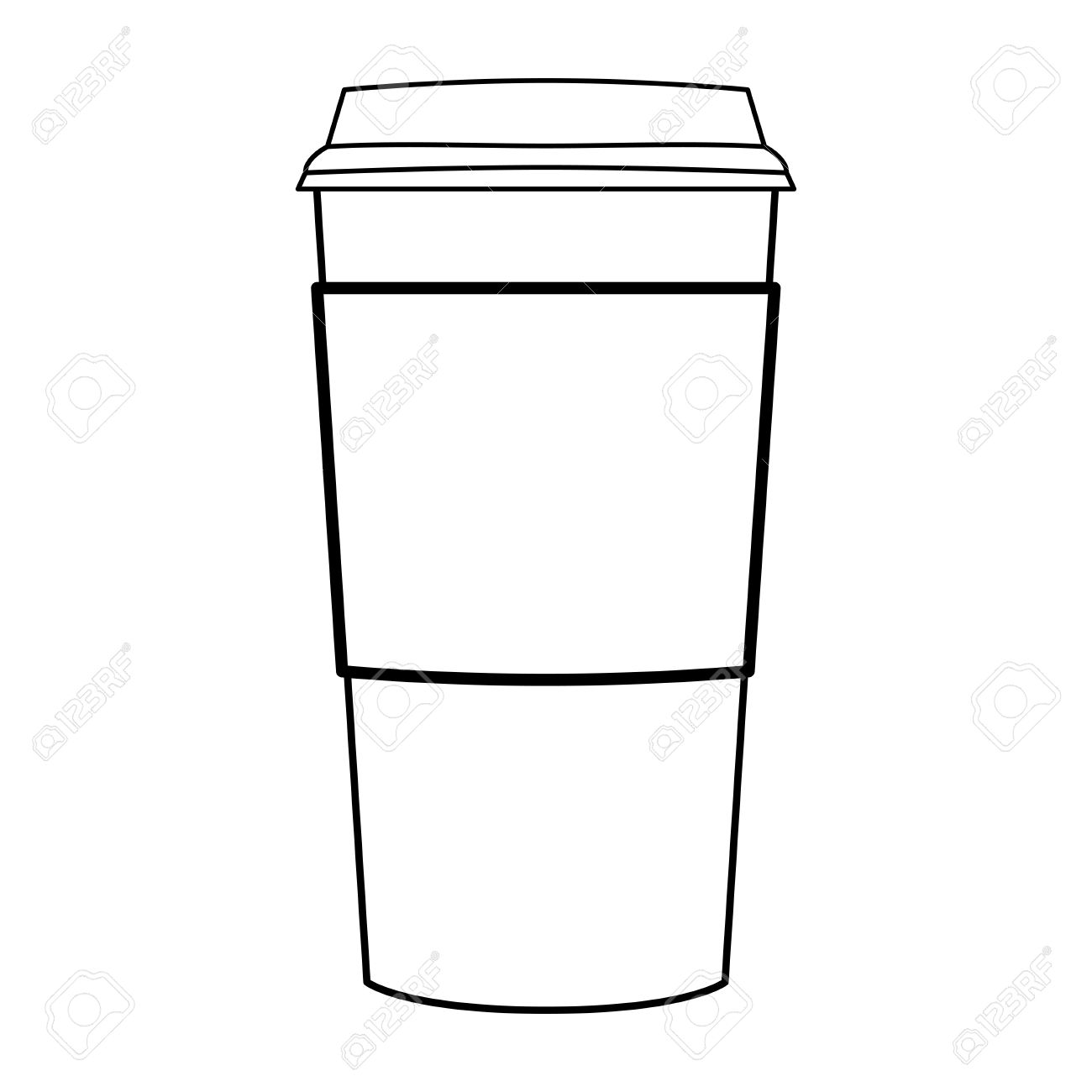 Tumbler clipart black and white svg library download Starbucks Tumblr Drawing | Free download best Starbucks ... svg library download