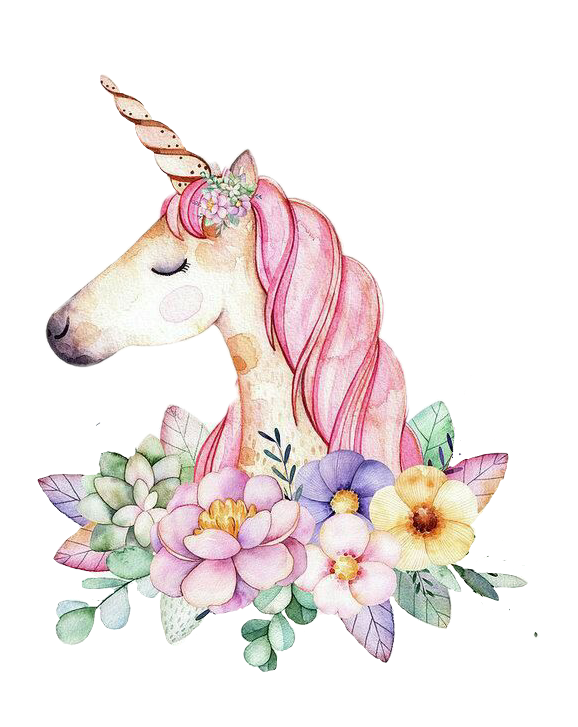 Tumblr clipart unicorn clip download unicorn flower tumblr nature cute kawaii pastel lovely... clip download