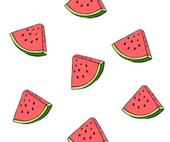 Tumblr clipart wallpaper black and white Watermelon Wallpaper Tumblr | Clipart Panda - Free Clipart ... black and white