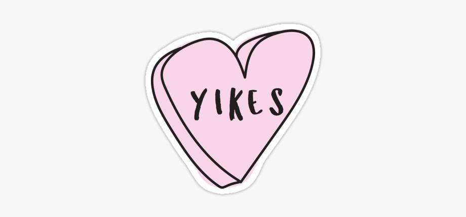 Tumblr clipart yikes svg freeuse stock conversationheart #yikes #freetoedit - Sassy Stickers Tumblr ... svg freeuse stock
