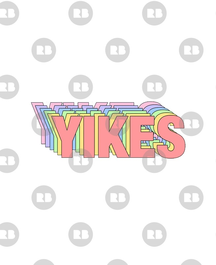 Tumblr clipart yikes picture transparent library Yikes Tumblr Sticker   iPad Case & Skin picture transparent library