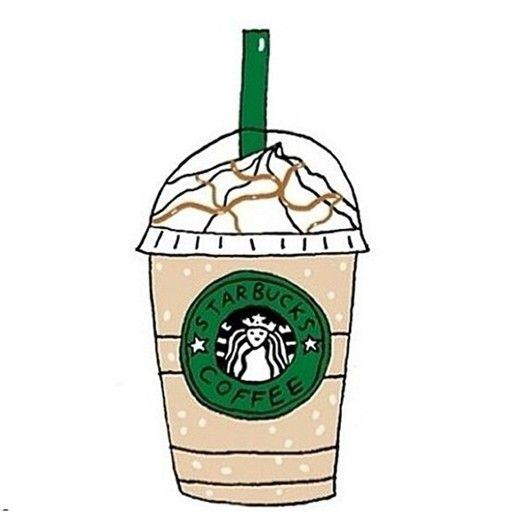 Tumblr cliparts starbucks vector black and white download Starbucks Drawing Tumblr | Free download best Starbucks ... vector black and white download