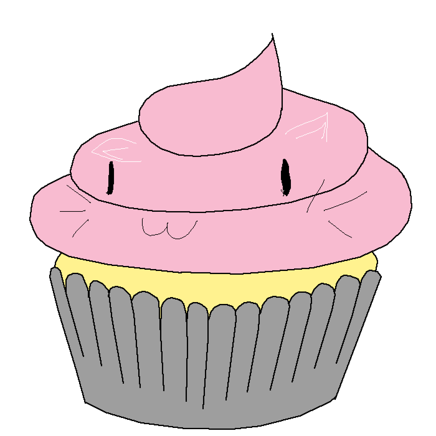 Tumblr cupcake clipart clipart royalty free download Cupcake Clip art Buttercream Portable Network Graphics ... clipart royalty free download
