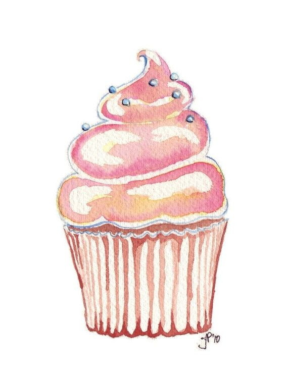 Tumblr cupcake clipart clip library Free Watercolor Cupcake Cliparts, Download Free Clip Art ... clip library