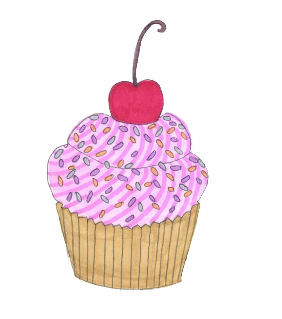 Tumblr cupcake clipart black and white Cupcake Tumblr Png - Png Cupcake Free PNG Images & Clipart ... black and white