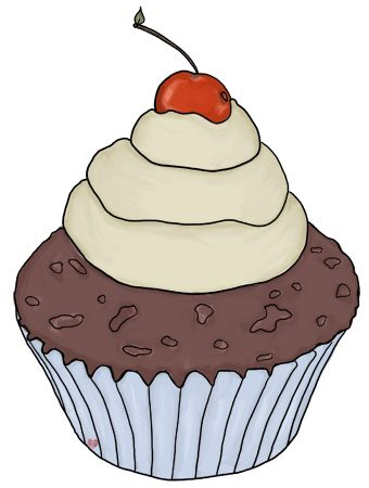 Tumblr cupcake clipart png free library Pinterest - Brasil png free library