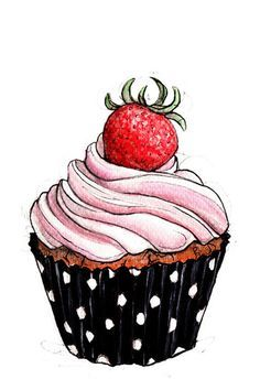 Tumblr cupcake clipart banner Cupcake Drawing on Pinterest | Cupcake Illustration, Cake ... banner