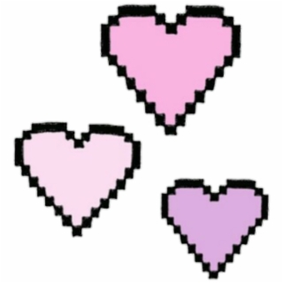 Tumblr heart clipart pink banner transparent stock Heart Tumblr PNG Images | Cliparts and Silhouettes | Free ... banner transparent stock