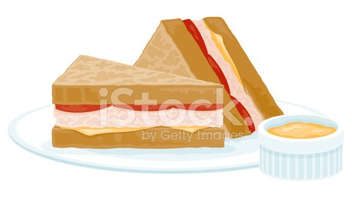 Tuna sandwich clipart svg freeuse library Tuna Melt Sandwich premium clipart - ClipartLogo.com svg freeuse library