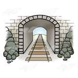 Tunnel clipart free picture royalty free download Tunnel Clip Art | Clipart Panda - Free Clipart Images picture royalty free download