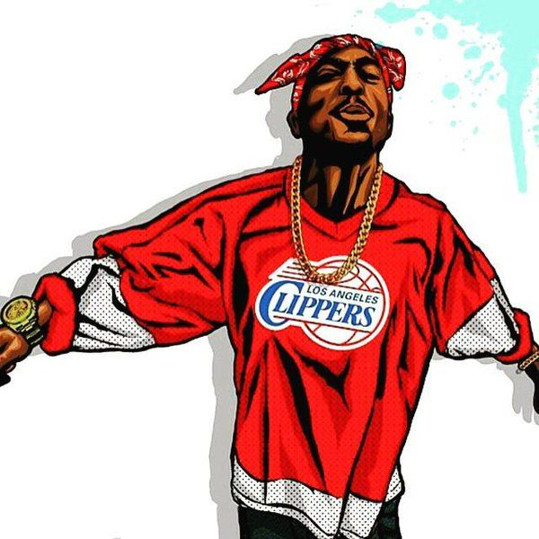 45+ Tupac Shakur Clipart | ClipartLook graphic freeuse library