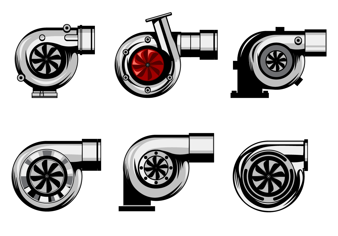 Turbo charger clipart free library Free Turbocharger Vector | Logos | Vector art, Car ... free library