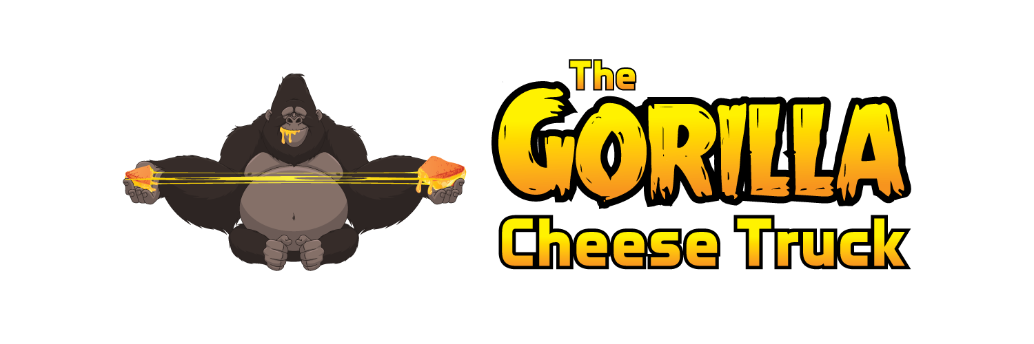 Turkey and cheese sandwich clipart jpg black and white library Grilled Cheese Food Truck & Catering in Phoenix | Gorilla Cheese Truck jpg black and white library