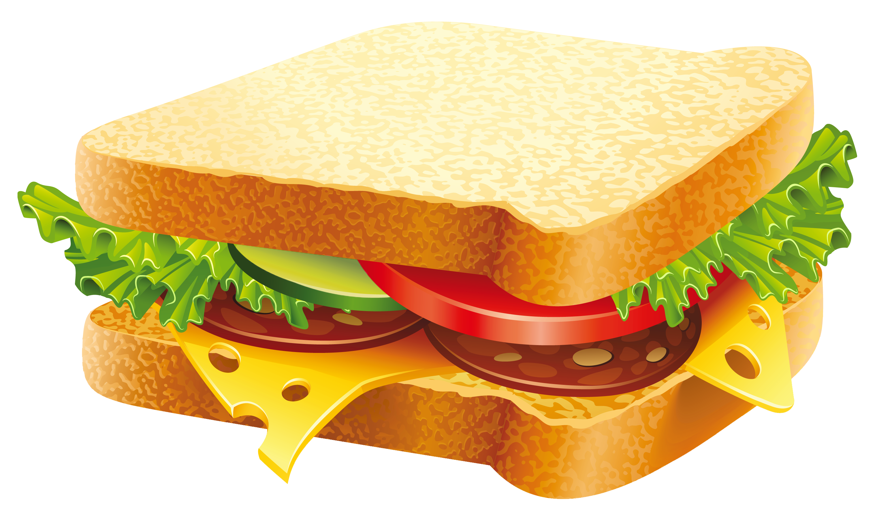 Turkey and cheese sandwich clipart png freeuse Hamburger Submarine sandwich Vegetable sandwich - Sandwich PNG ... png freeuse