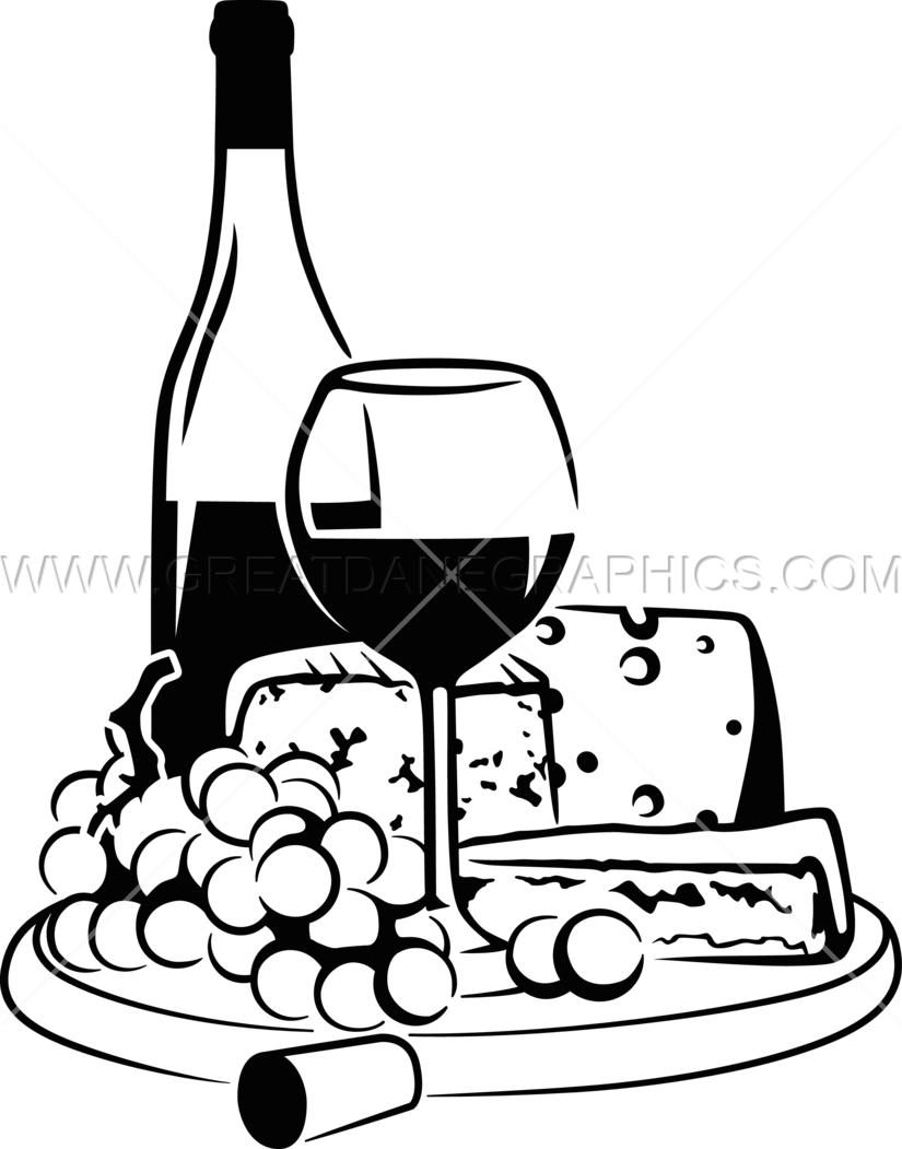 Wine Bottles Drawing at GetDrawings.com | Free for personal use Wine ... clip black and white download