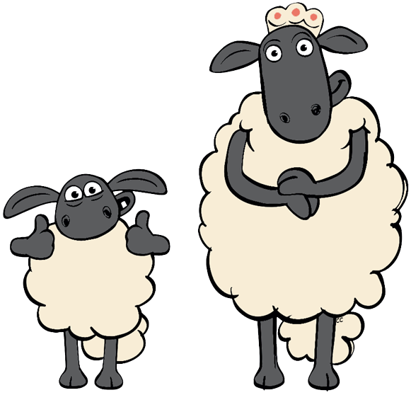 Turkey as a sheep clipart clipart transparent library Flock Of Sheep Clipart. Elegant Group Of Black And White Sheep ... clipart transparent library