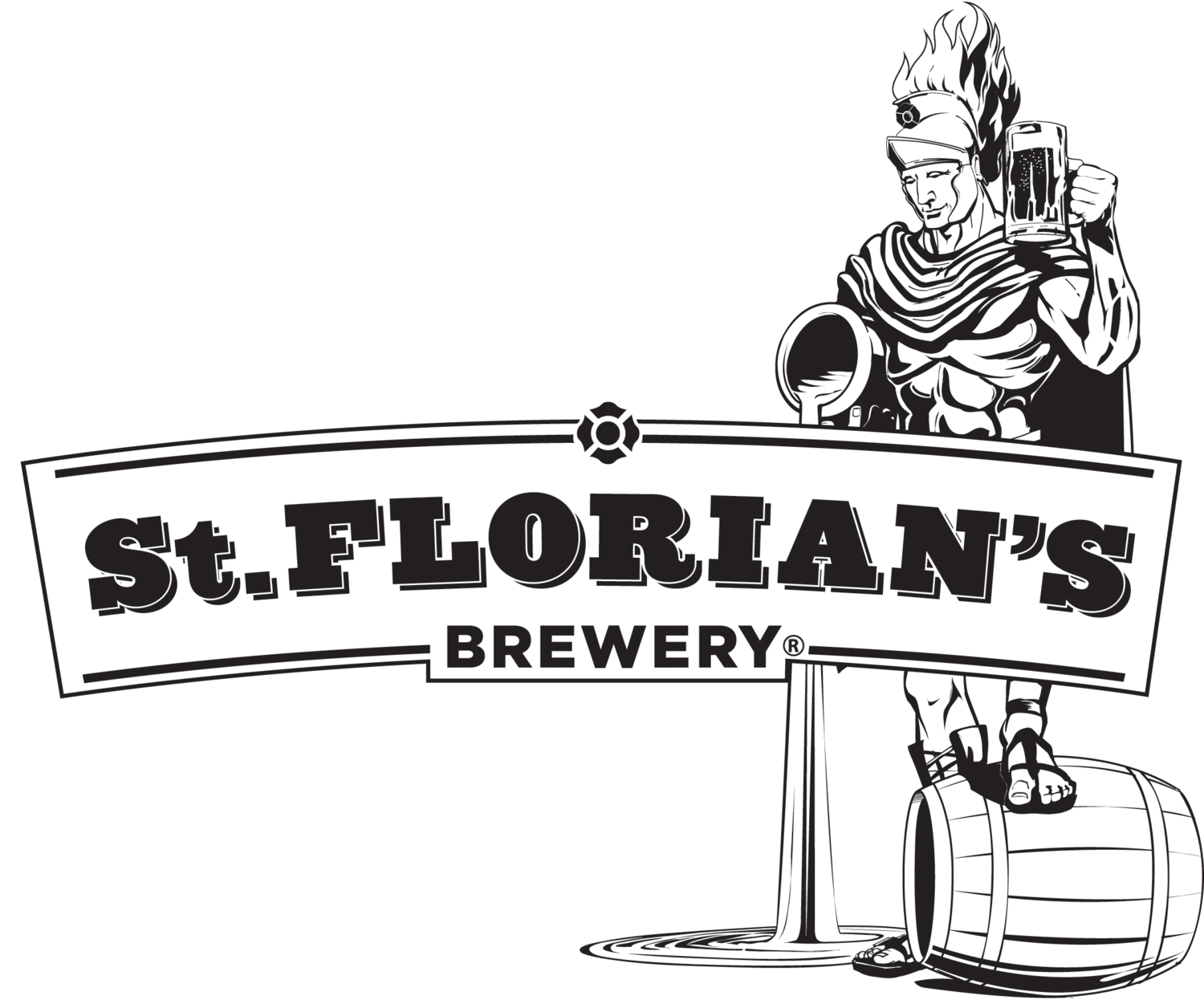 Turkey beer run clipart clipart transparent library Press — St FLORIAN'S BREWERY clipart transparent library