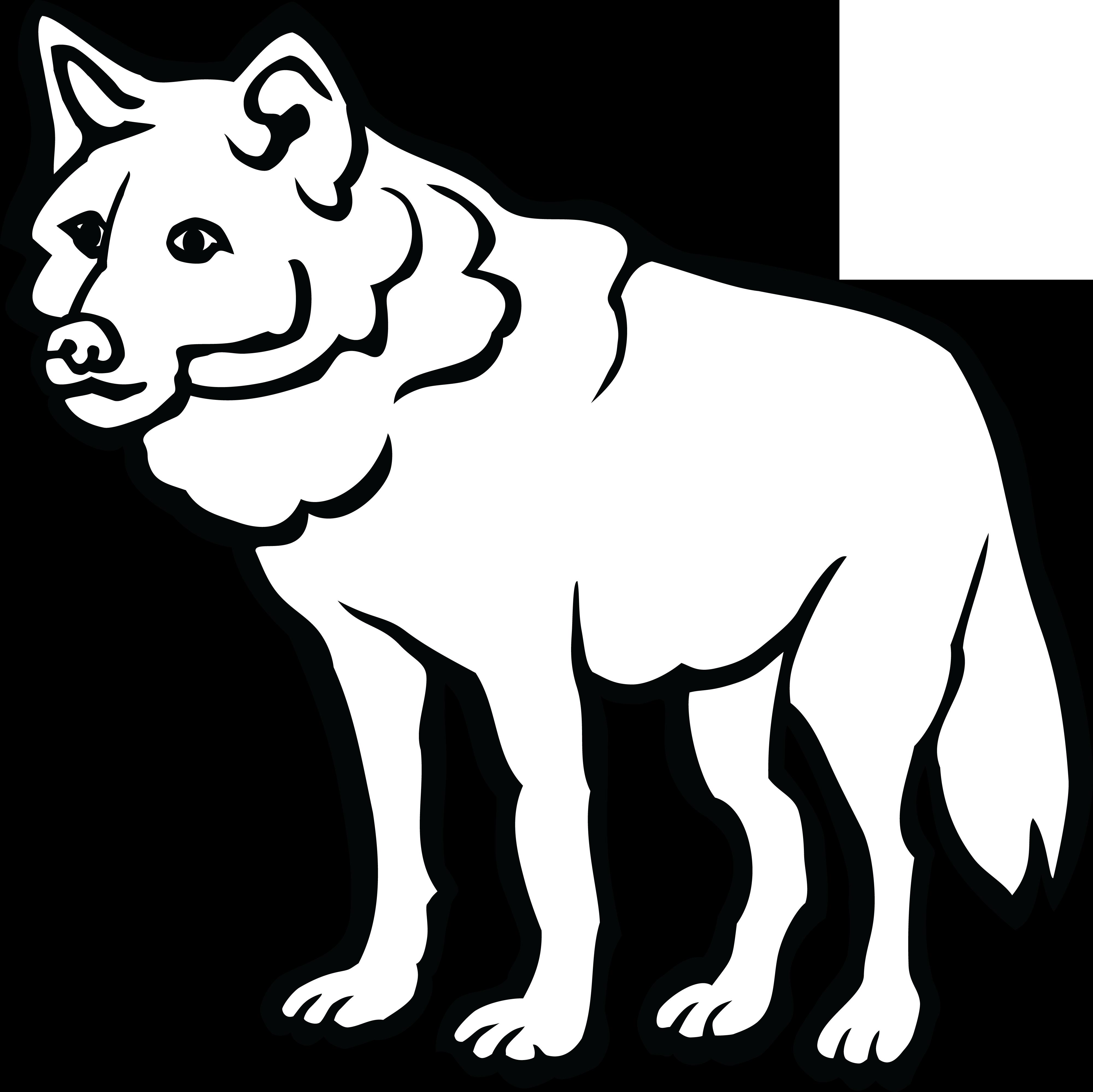 Turkey black and white clipart free clip freeuse Wolf Clipart Black And White | Free download best Wolf Clipart Black ... clip freeuse