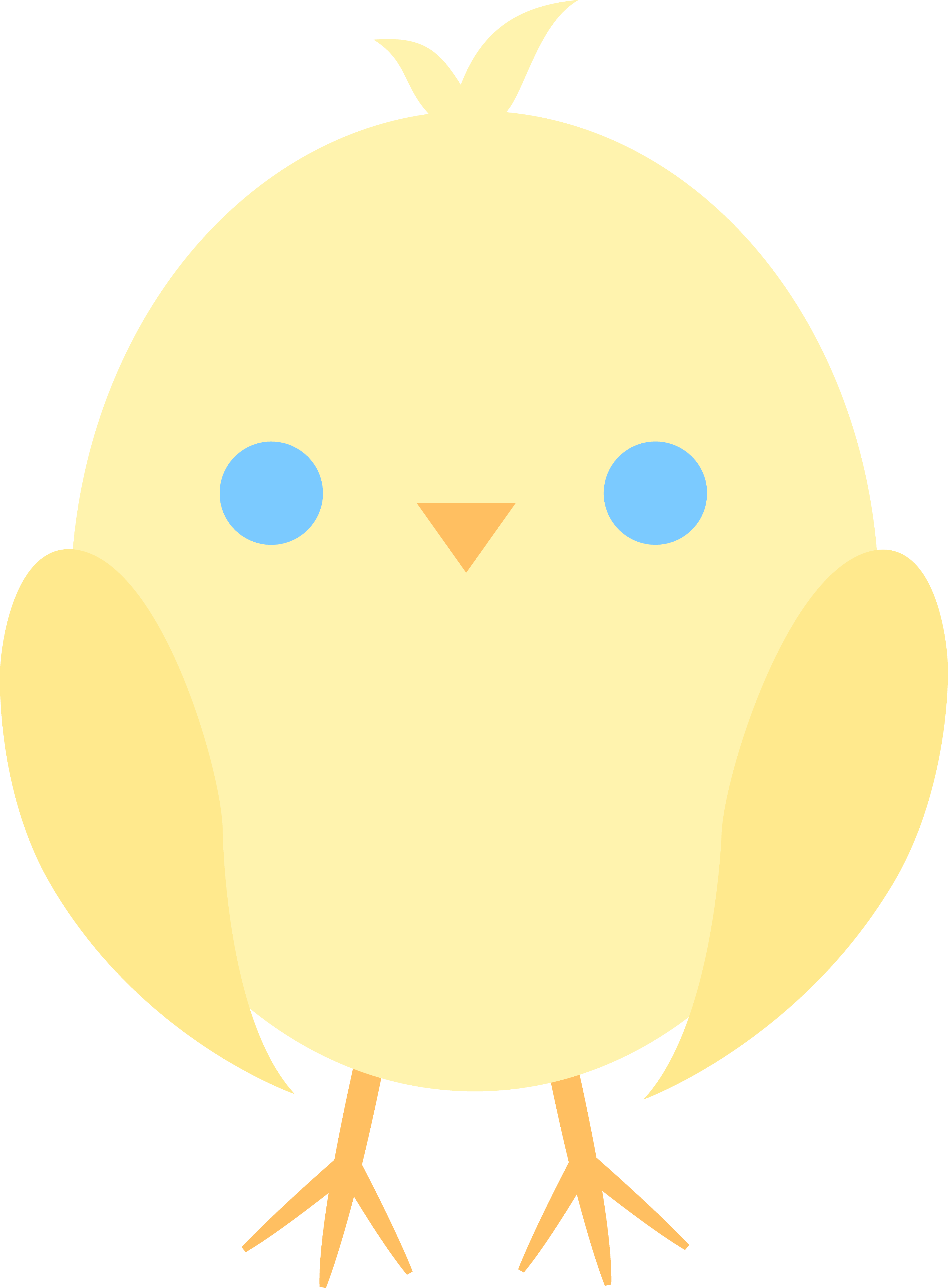 Cute Baby Chicken Clipart | Clipart Panda - Free Clipart Images image transparent library