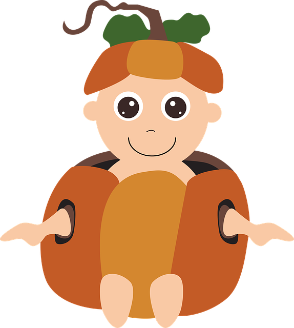 Turkey clipart babys black and white download Free Image on Pixabay - Halloween Costume, Pumpkin Baby   Pumpkin ... black and white download