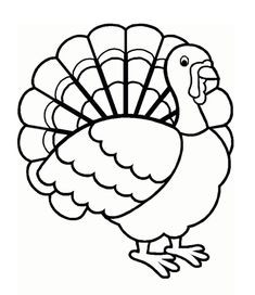 Fresh Turkey Clipart Coloring Pages – Cleanty.me image transparent stock