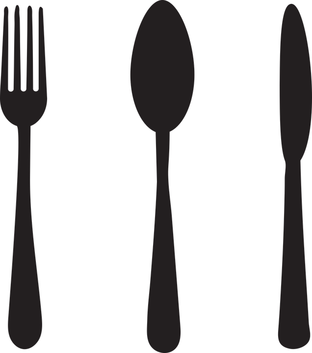 Turkey with knife and fork clipart banner transparent Fork And Knife Vector Group (85+) banner transparent