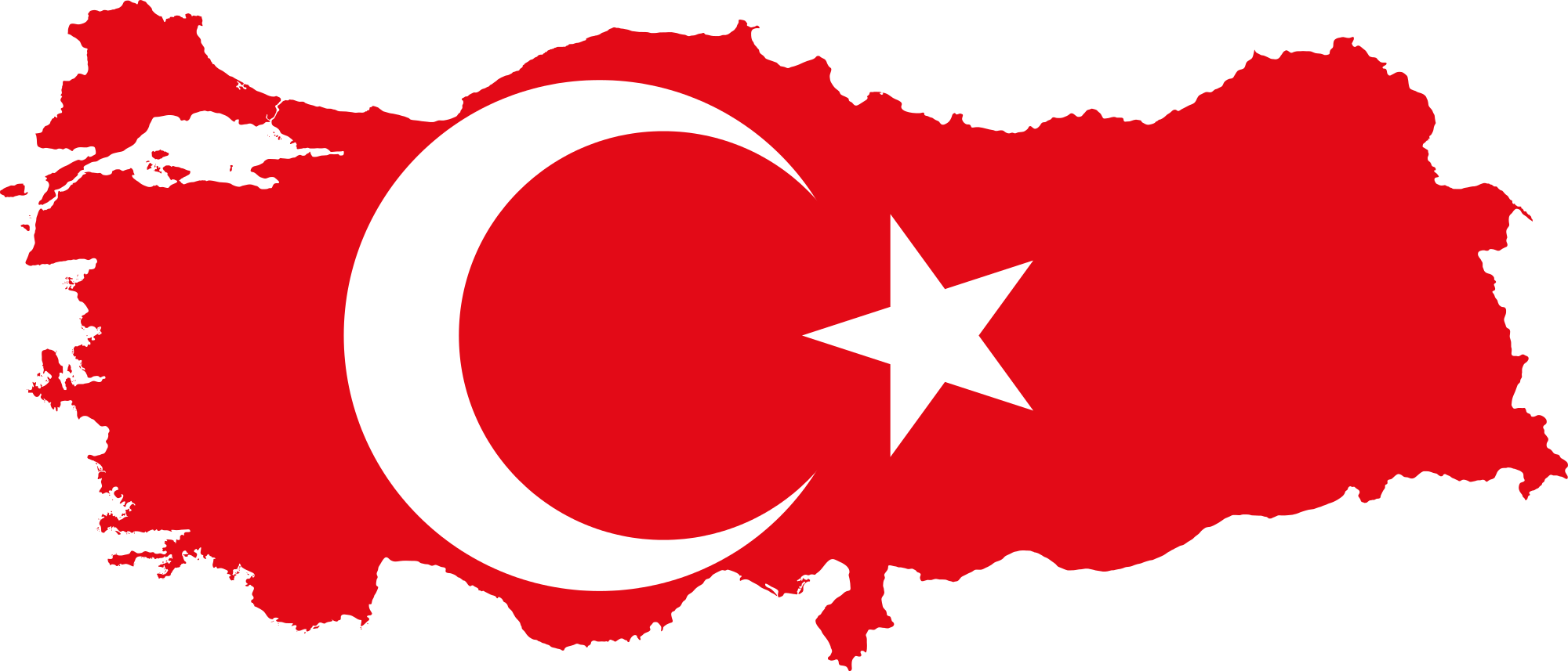 Turkey country clipart vector black and white stock Turkish Prime Minister Issues Secular Pledge for New Constitution vector black and white stock
