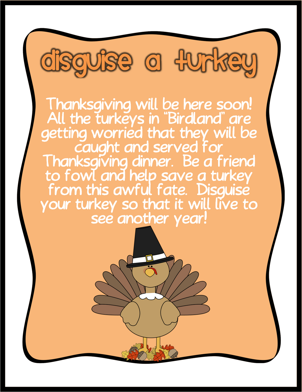 Turkey disguise clipart santa banner black and white library November 2012 - Swinging for Success banner black and white library
